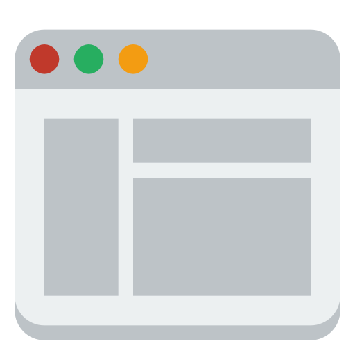 Window layout icon 34330
